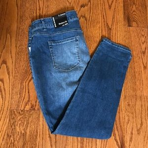 Modern Fit D. jeans size 20W baby roll cuff new